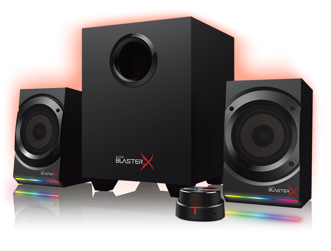 Creative SOUND BLASTERX Kratos S5 2.1 RGB Speaker