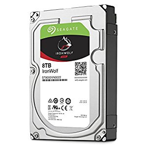 "Seagate 8TB NAS HDD 3.5"" IronWolf"